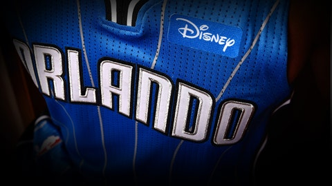 The Orlando Magic will rock Disney patches on jerseys next season