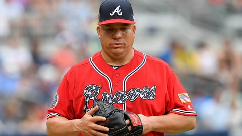 Atlanta Braves Designate Bartolo Colon For Assignment