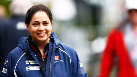 Monisha Kaltenborn pictured ahead of the 2016 Australian GP. (Photo: Andy Hone/LAT Photographic)