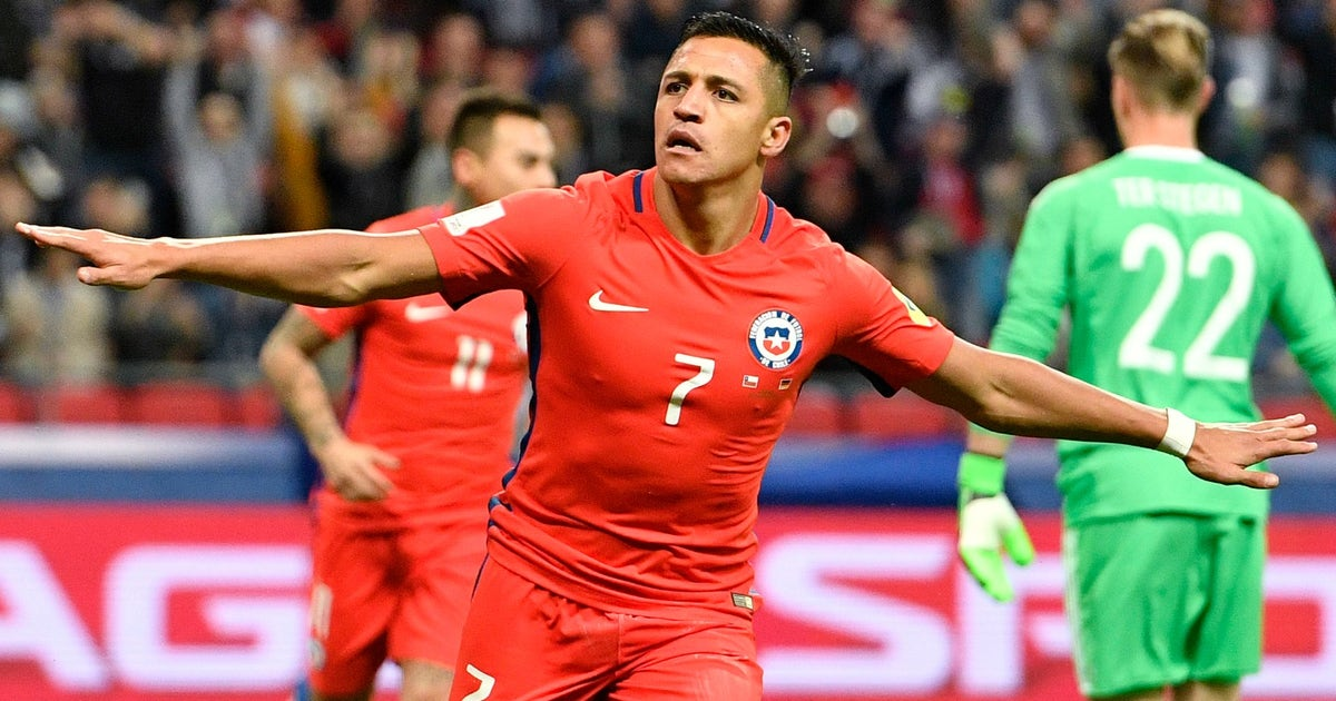 Watch Alexis Sanchez make Chile national team history with pinpoint finish vs. Germany | FOX Sports