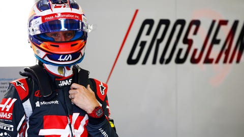 Romain Grosjean has raced for the Haas F1 Team in every races since its beginning. (Photo: Andrew Hone/LAT Images)