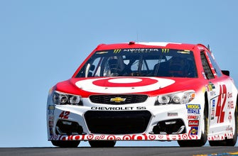 Kyle Larson leads Chip Ganassi Racing 1-2 in Sonoma qualifying