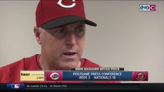 Reds manager Bryan Price not excusing Bailey's health for not performing