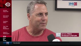 Price on Homer Bailey's return: 'I think he's ready to go'