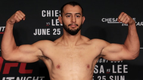 Dominick Reyes Starches Joachim Christensen in 29 Seconds