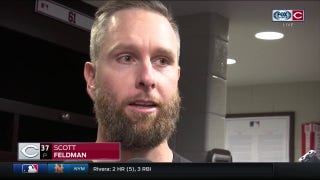 Scott Feldman was on same page with Barnhart, praises Reds defense