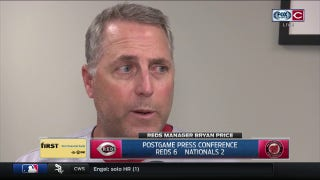 Price: Gennett says Gennett provides instant offense, credits Feldman for start