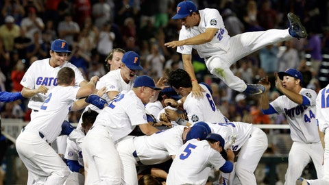 Florida tops LSU 6-1 to win first College World Series title