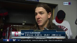 Despite outcome, Mike Clevinger feels that he can build off start for Tribe