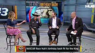 Richard Petty and Jimmie Johnson talk about reaching 7 championships | NASCAR RACE HUB