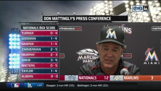 Don Mattingly breaks down Tuesday night's game vs. Nationals