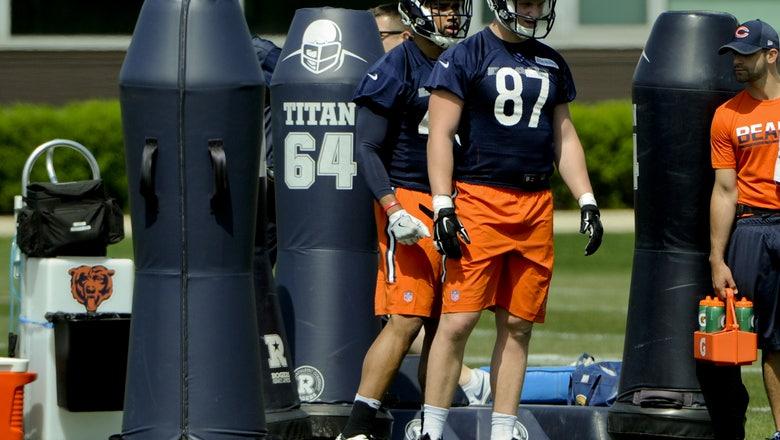 Chicago Bears: Adam Shaheen should push for starting job