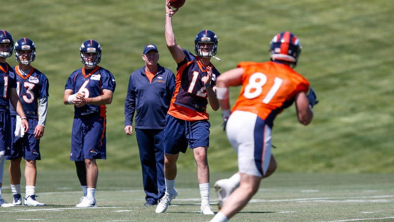 Denver Broncos: Paxton Lynch moving up, should be starter