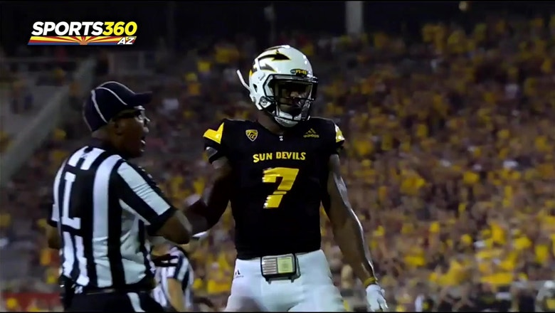 Kalen Ballage still with plenty to prove at ASU