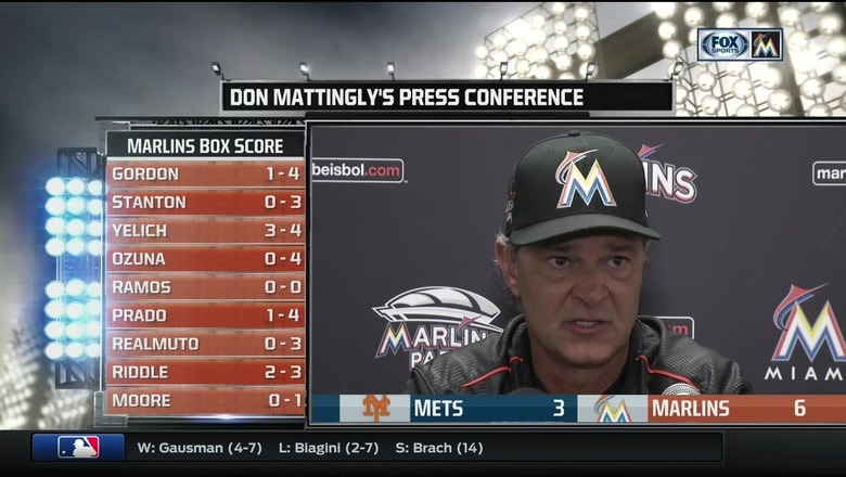 Don Mattingly breaks down win over Mets