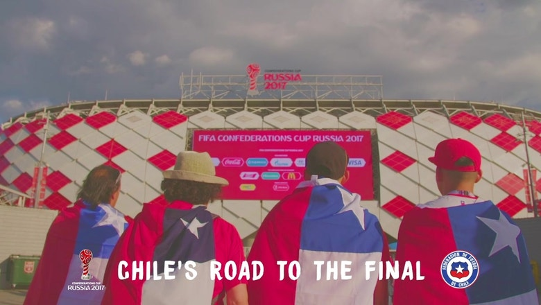 Chile's road to the Confederations Cup Final