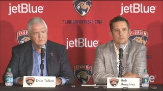 Florida Panthers' Bob Boughner introductory press conference Part 2