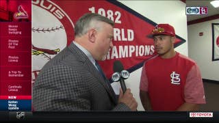 Kolten Wong feeling good about his injury rehab