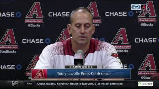 Torey Lovullo: We pick each other up