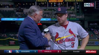Gyorko: Cardinals had a 'bad taste' left after previous night's loss