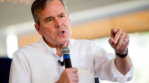 Jeb Bush joins Romney in pursuit of Miami Marlins