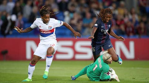 Lyon keeper nets shootout victor to secure women's Champions League trophy