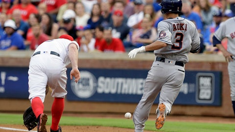 Rangers put 1B Mike Napoli on DL with lower back strain