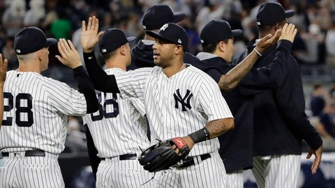 Yankees Put Up Football-like Numbers in 13-Run Victory