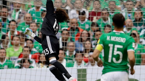 Mexico draw with US, maintain lead at top of qualifying group