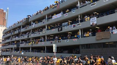 Penguins Fans: 'You Throw Catfish. We Throw Parades.'