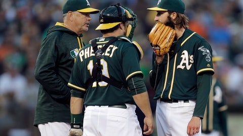 A's fire pitching coach