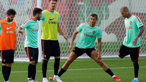 Portugal captain Cristiano Ronaldo not concerned by Confederations Cup draw with Mexico