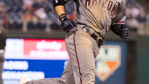 Fuentes gets 1st HR in 10th, D-backs beat Phillies 5-4