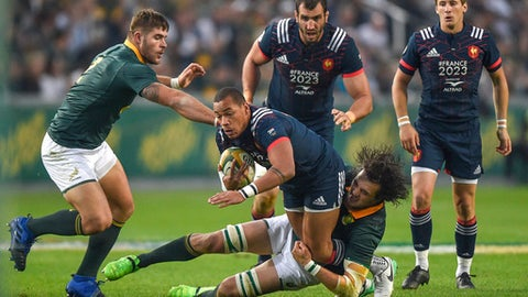Springboks beat France in Durban