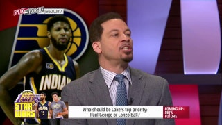 Lakers reportedly considering trading #2 pick for Paul George | SPEAK FOR YOURSELF