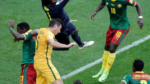 ConfederationsCup: Cameroon Crash Out As Germany, Chile Progress To Semis