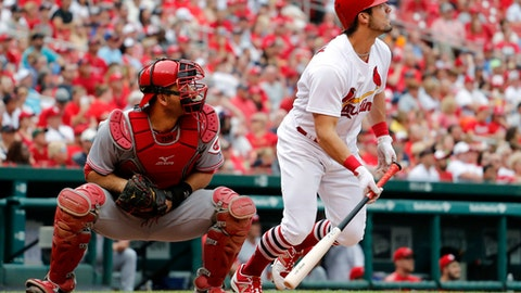 Grichuk returns with a bang as Cardinals beat Pirates 8-4
