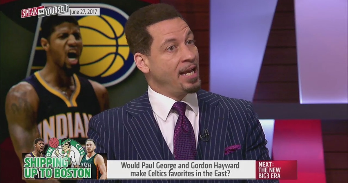 Would Paul George and Gordon Hayward make the Celtics favorites in the East? | SPEAK FOR YOURSELF | FOX Sports