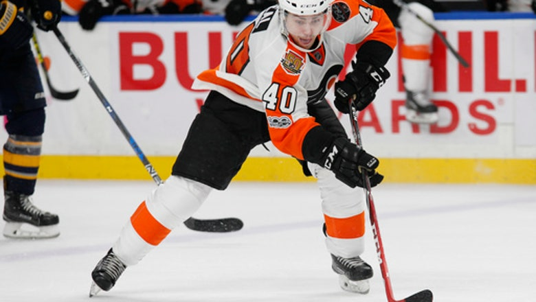 Flyers re-sign Jordan Weal to 2-year deal