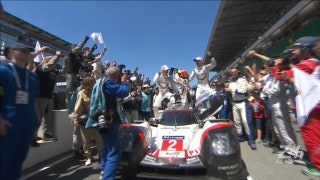 No. 2 Porsche Wins Overall | 24 HOURS OF LE MANS 2017
