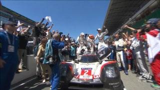 No. 2 Porsche Wins Overall | 24 HOURS OF LE MANS 2017