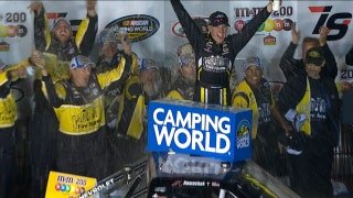 John Hunter Nemechek Goes Back-to-Back with Win at Iowa | 2017 TRUCK SERIES | FOX NASCAR