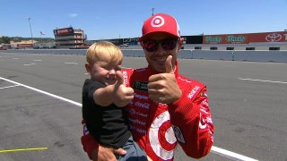 Kyle Larson Wins Pole Position | 2017 SONOMA | FOX NASCAR