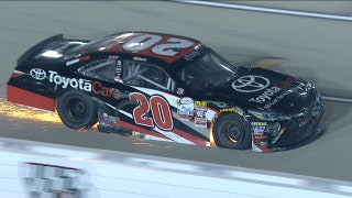 Christopher Bell Taken Out While Leading at Iowa | 2017 XFINITY SERIES | FOX NASCAR