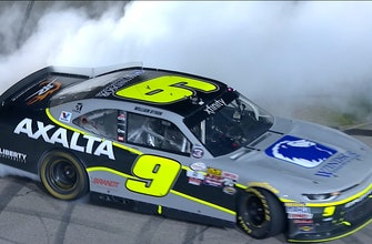 William Byron Wins First Career Race at Iowa   2017 XFINITY SERIES   FOX NASCAR