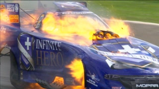 Jack Beckman Wins Funny Car Final at Norwalk | 2017 NHRA DRAG RACING