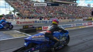 LE Tonglet Wins Pro Stock Motorcycle Final at Norwalk | 2017 NHRA DRAG RACING