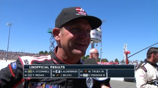 Clint Bowyer Battles Hard for Second | 2017 SONOMA | FOX NASCAR