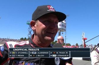 Clint Bowyer Battles Hard for Second   2017 SONOMA   FOX NASCAR