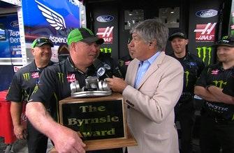 Bryson Byrnes Presents the Third Annual Byrnsie Award I NASCAR RACEDAY